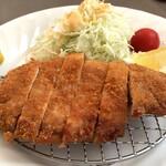 岩手山レストラン - 佐助豚とんかつ定食