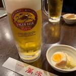 中國料理 萬来 - ドリンク写真:生ビール