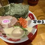 豚骨ラーメン専門 大名古屋一番軒 - ラーメンが到着しました。