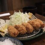 富士喜 - カキフライ定食