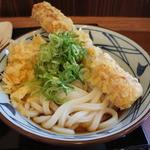 丸亀製麺 - ちくてんぶっかけ!