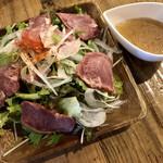 Beef Labo - スモークタンのサラダ