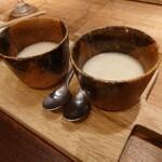 137992384 - お通しの茶碗蒸し