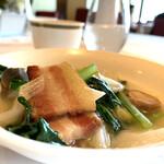 ジャスミンガーデン - 塩豚スープ炒め