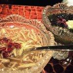 1380942 - ジュンサイの酢の物と生海苔の酢の物