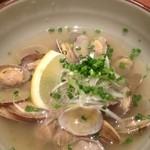 丸秀鮮魚店 - 浅蜊の酒蒸し