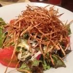 丸秀鮮魚店 - ごぼうサラダ