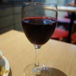 ビーフキッチンスタンド - グラスワイン赤98円