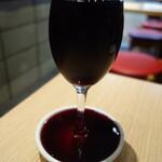 ビーフキッチンスタンド - グラスワイン赤大199円