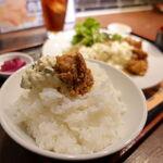 米助 - チキン南蛮定食 680円(税込) ご飯の大盛り・おかわり無料