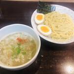 藤丸 - 塩つけ麺 小盛(700円)