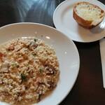 LINO - 料理写真:「ポルチーニ茸のリゾット」
