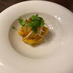 サイアムガーデン - 白身魚のフライ ガーリックソース