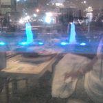 13801372 - 窓から見える噴水のライトアップ!