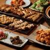 炭火串焼とりと - 料理写真:とりと自慢の炭火焼鳥と土鍋! 90 分飲み放題付き『鶏五目セット』