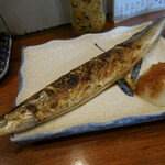 ずぼら - 焼秋刀魚