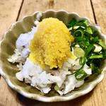 138018627 - 生からすみ(600円)〜生からすみとは予想とは全く違って、干したボラの卵ではなく、これは生の魚卵だな。