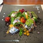 ビストロ ダイア - 初サンマのサラダ