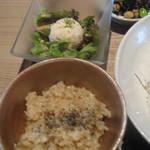 13802569 - 玄米ご飯サラダ