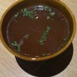 山本のハンバーグ - 日替わりスープ