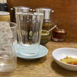 138022707 - 焼酎 25° 420円、烏龍茶 160円。