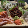 魚貝三昧 雛 - 料理写真:5点盛り