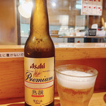 担々麺 辣椒漢 - ビール(小瓶) 500円