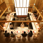 さんぽう西村屋 - ライブ感あるオープンカウンターキッチンで肩ひじ張らない日本料理を。