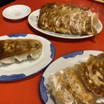 錦ちゃん餃子 - 各種餃子。見た目では判断つかない。