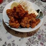 九州ラーメン うまか - 鶏の唐揚げ