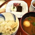 魚三楼 - 松茸ご飯