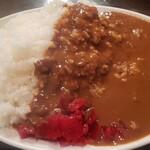 レストラン伍平 - 大盛カレーライス