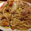 リバーサイド - 料理写真:普通の方には多いです(笑)イタリアン爆量パスタ