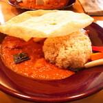CAFE Z. - チキン根菜カレー (1,200円)