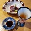 親和苑 - 料理写真:食前酒と馬たたき