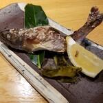 親和苑 - 山女魚の塩焼き
