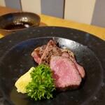親和苑 - 赤牛サーロインとローストビーフ