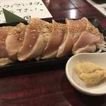 大阪大衆鉄板焼き酒場 てっちゃん - 鶏たたき