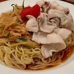 暖暮 - 「新生姜と豚しゃぶの冷やし中華(830円)」