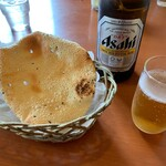 天竺薬膳 北印度料理 みらん - アサヒスーパードライ中瓶