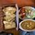 天竺薬膳 北印度料理 みらん - 料理写真:Cランチ(ナン変更)