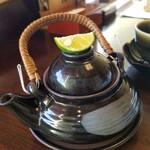 Umenohana - オプションで土瓶蒸し♪