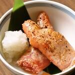 海鮮と産地鶏の炭火焼き うお鶏 -