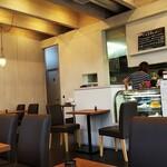 カフェ ミルク - 店内風景