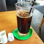 カフェ ミルク - 飲みものは、アイスコーヒーを選択