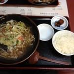 50番 - 肉野菜らーめん+めんセットB