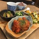 Cafeこもど - 料理写真:野菜の豚ロールトマト煮込み