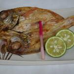 レストラン 海幸苑 - 単品メニューの「のどぐろの一夜干し」です。上質なのどぐろの味をご堪能ください。