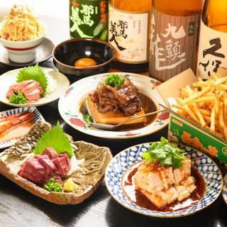 お酒好きも納得!豊富に取り揃えた日本酒・焼酎が20種類以上