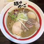 138068774 - 限定・和風冷やしらーめん 濃厚牡蠣そば(1150円)+味玉(120円)